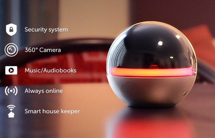 Smart home security system project