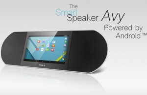 Android Powered Zettaly Avy Smart Speaker (video)