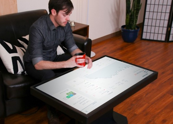 46 Inch Ideum Duet Windows 8 Smart Table Launches Next