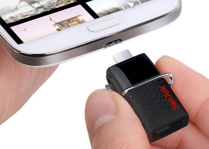 Smartphone Flash Drive