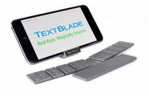 TextBlade Capacitive Touch Portable Keyboard Launches For $99