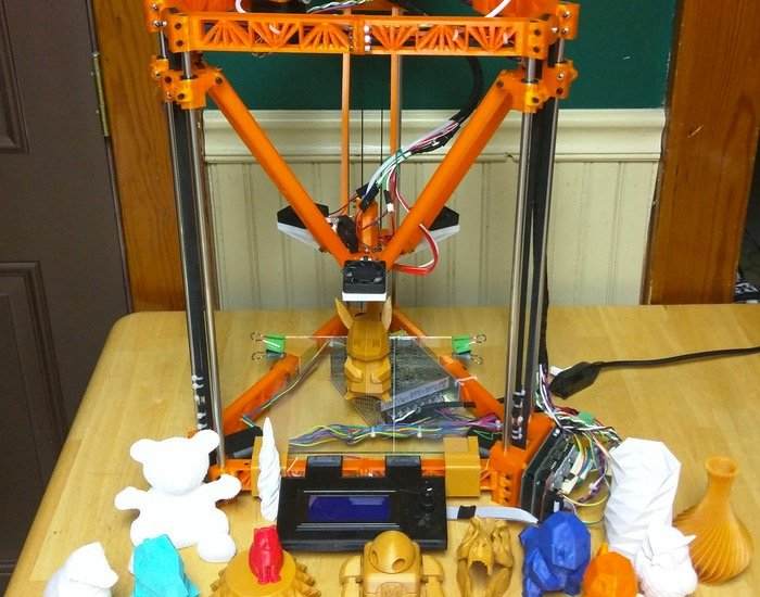 Thingystock Expandable Open Delta 3D Printer