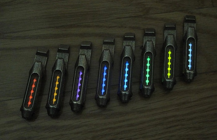 Tritium Flashlight