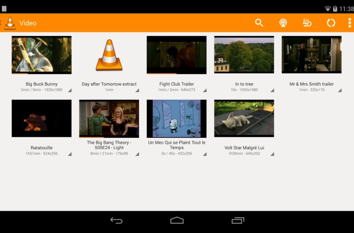 VLC Android TV App