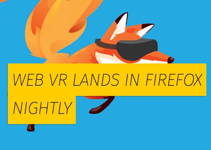 Virtual Reality Firefox