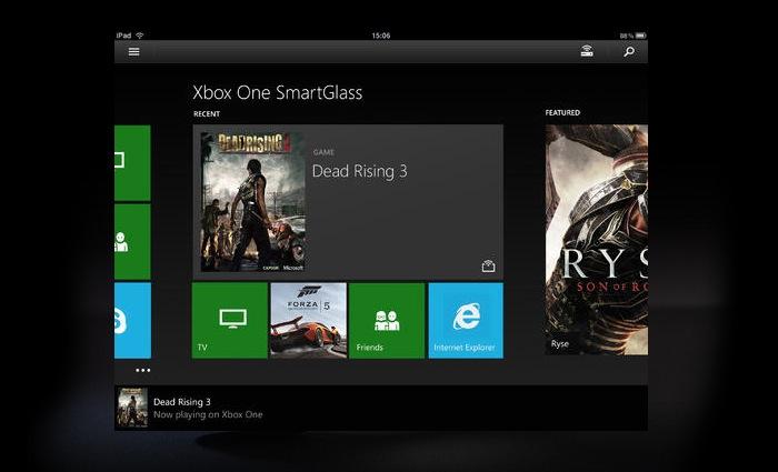 Xbox One SmartGlass App Update