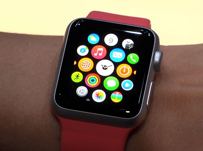Actual Apple Watch