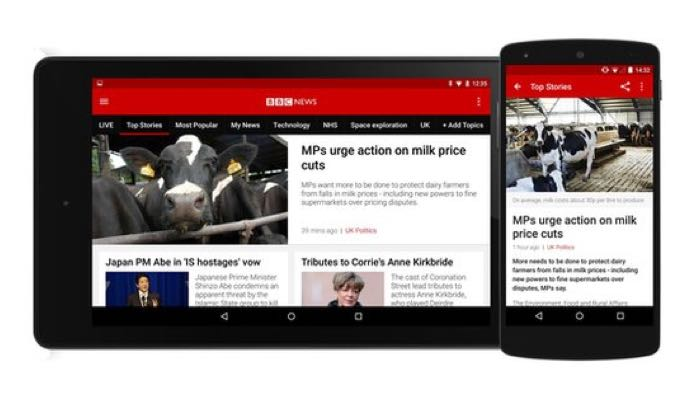 Bbc News Update: BBC News App For Android And IOS Updated