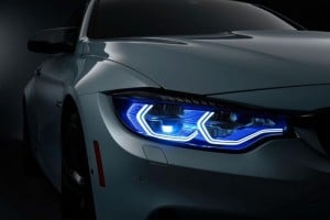 BMW M4 Concept Iconic Lights Appear At CES
