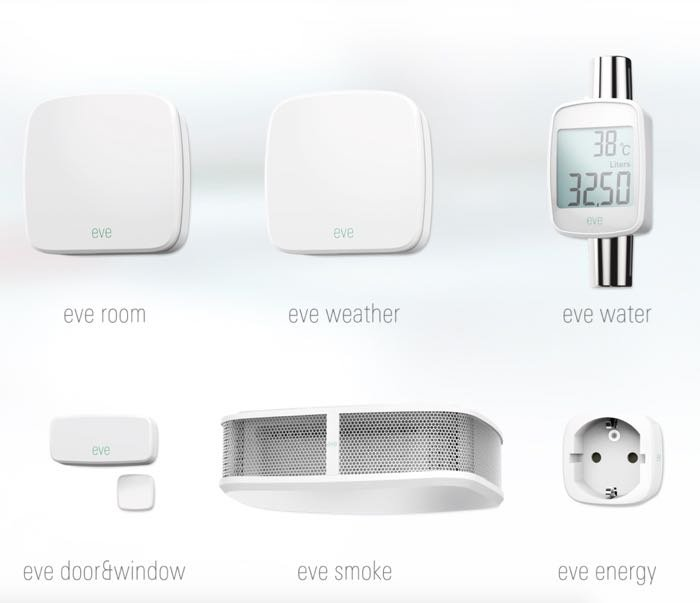 Elgato Eve Home Monitoring System Features Apple HomeKit