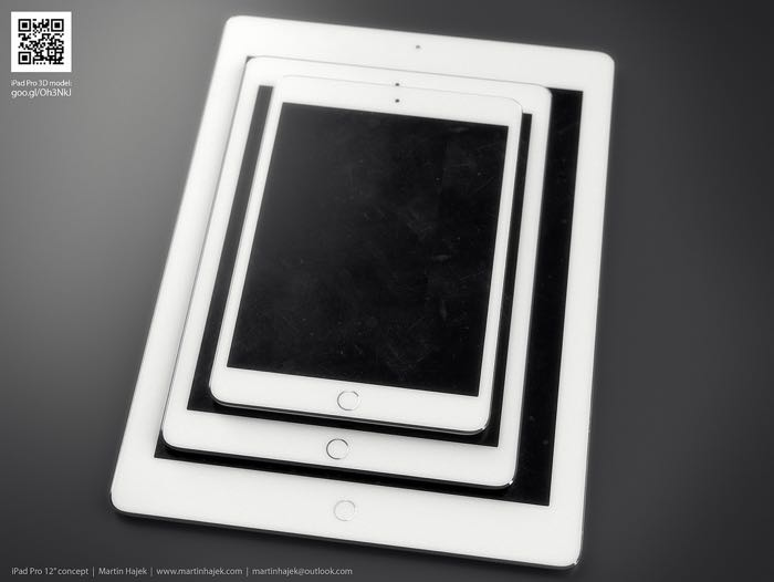 12 Inch iPad Pro Concept Looks Awesome