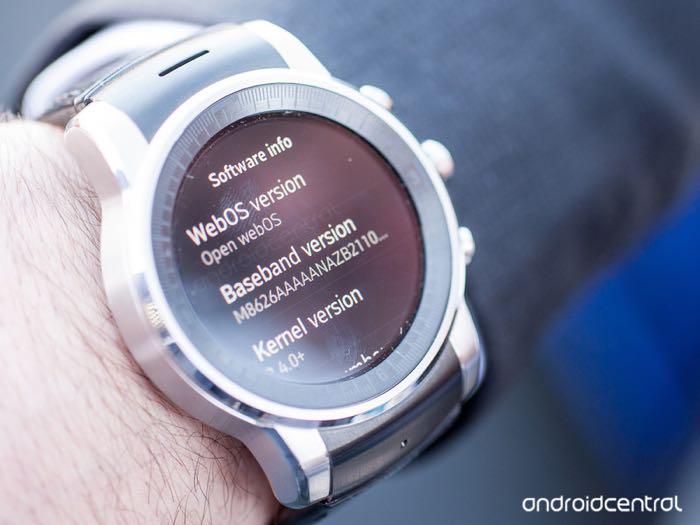 lg webos smart watch