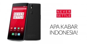OnePlus One Launches in Indonesia, Pre-orders Open January 27th