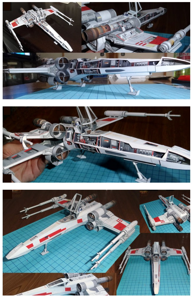 paper x-wing