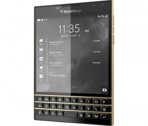 Limited Edition Gold And Black BlackBerry Passport Launched
