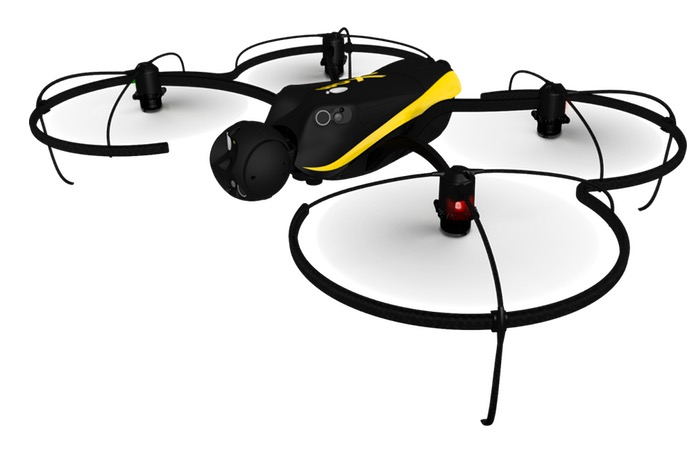 Parrot senseFly eXom Commercial Drone Unveiled At CES 2015