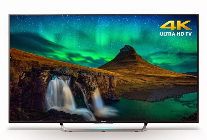 Sony Shows Off New 4K Ultra HD TVs At CES