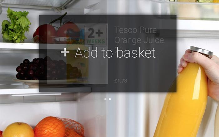 tesco google glass