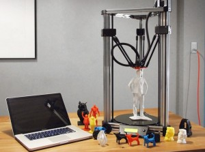 Large Print Volume Delta 3D Printer Unveiled By 16Hertz