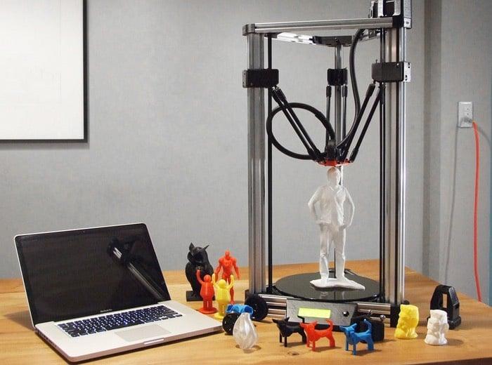 16Hertz Delta 3D Printer