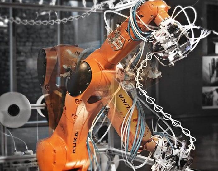 6-Axis Robotic 3D Printer