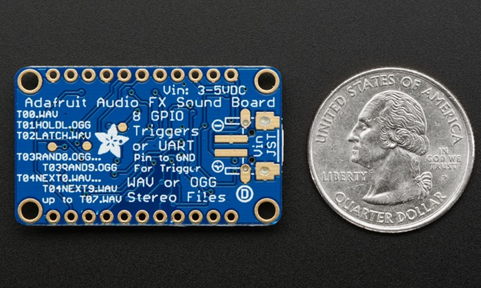 Adafruit Audio FX Mini Sound Board