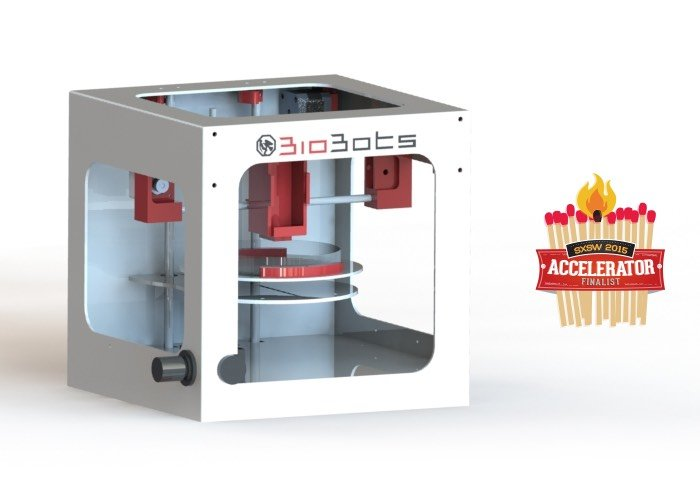 BioBots Rapid Bio-Prototyping Fabrication Station