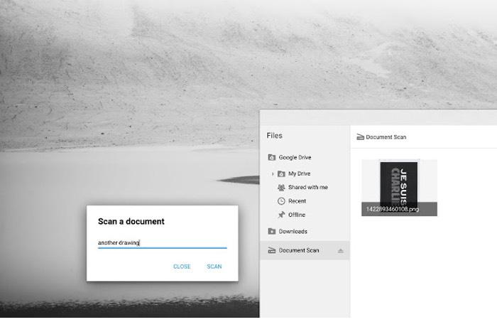 Chromebook Scan