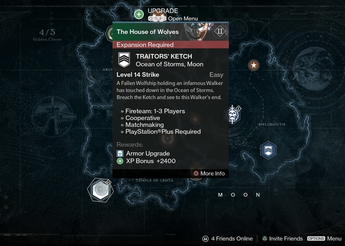 Destiny House of Wolves Details Leaked