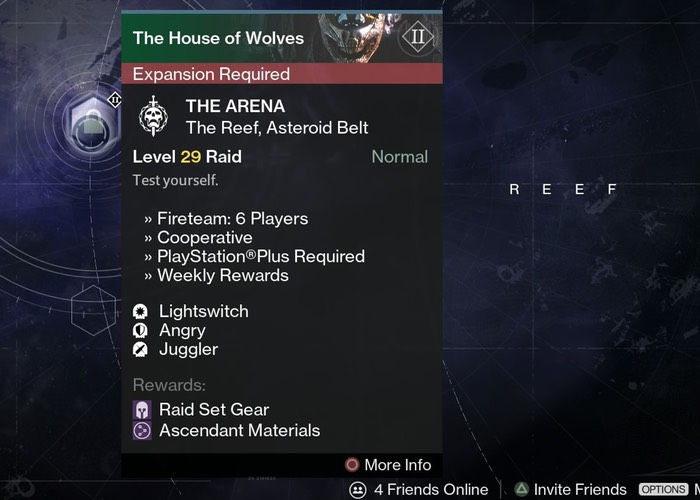 Destiny House of Wolves