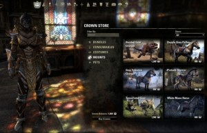 Elder Scrolls Online Enabling Cash Purchased For Potions To Increase Health And XP
