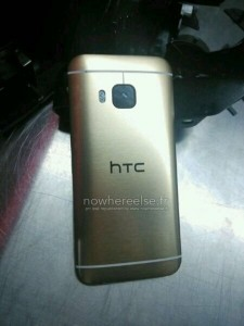 Gold HTC One M9 Leaked