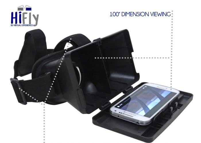 HiFly Virtual Reality Headset-2