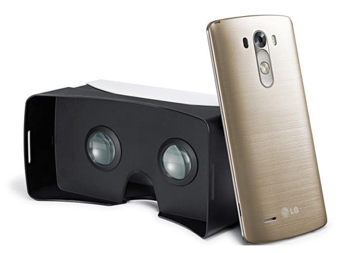 LG G3  Virtual Reality Headset