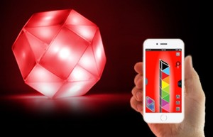 Light Show Smartphone Controlled Light Puzzle (video)