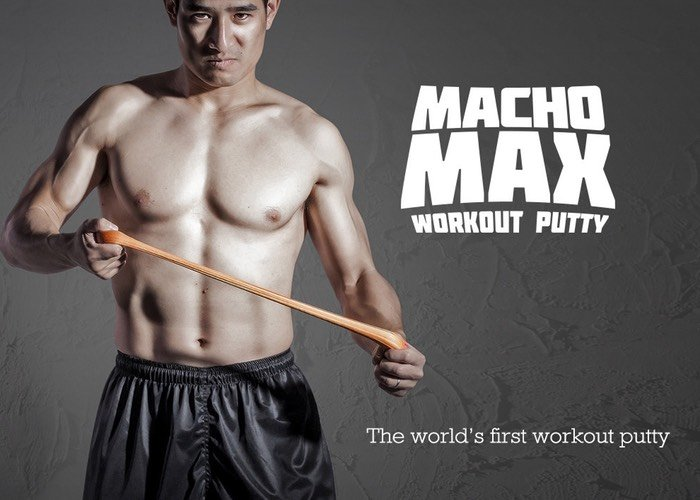 MachoMax Workout Putty