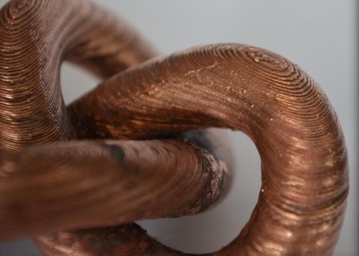 Metallic 3D Printer Filament