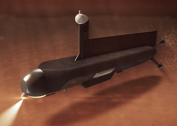 NASA Titan Exploration Submarine