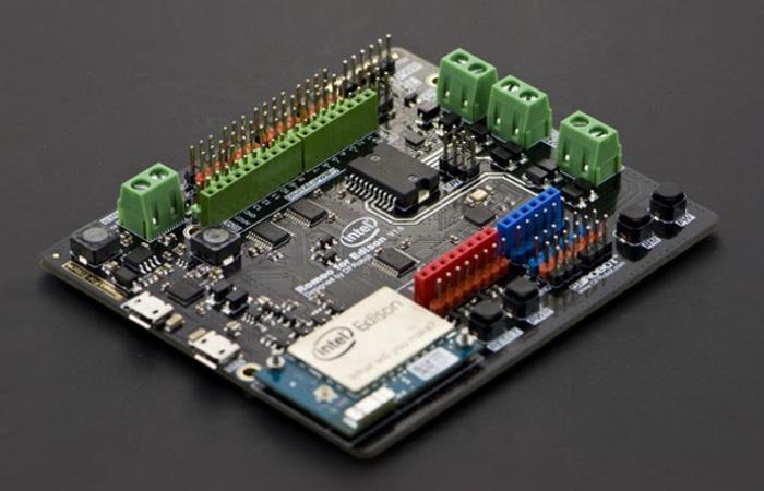New Intel Edison Breakout Boards