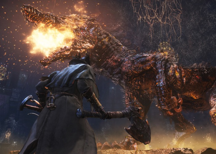 PS4 Exclusive Bloodborne Story Trailer