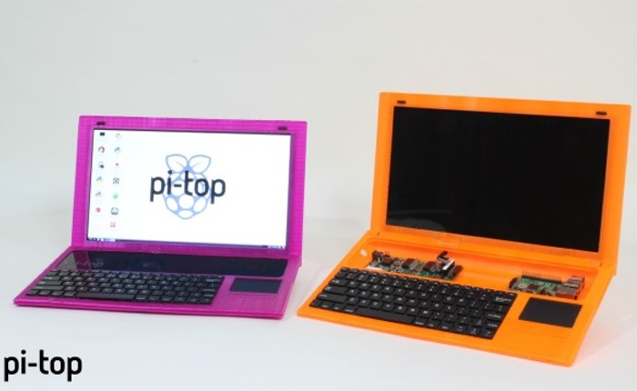 Pi-Top Raspberry Pi 3D Printed Laptop