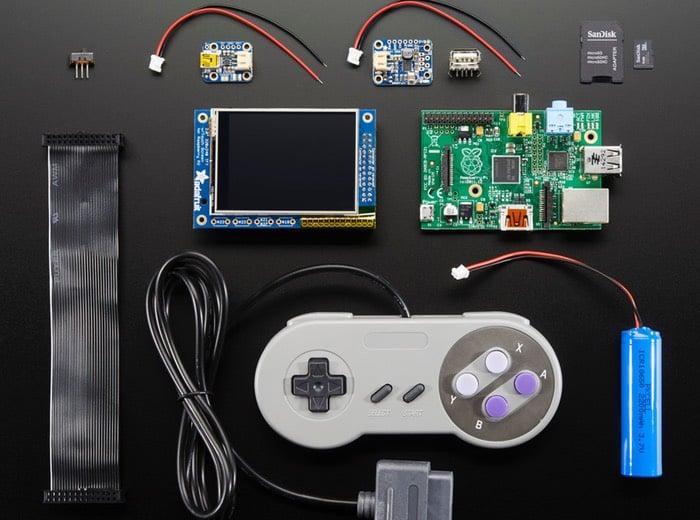 PiGRRL Pack Raspberry Pi games emulator