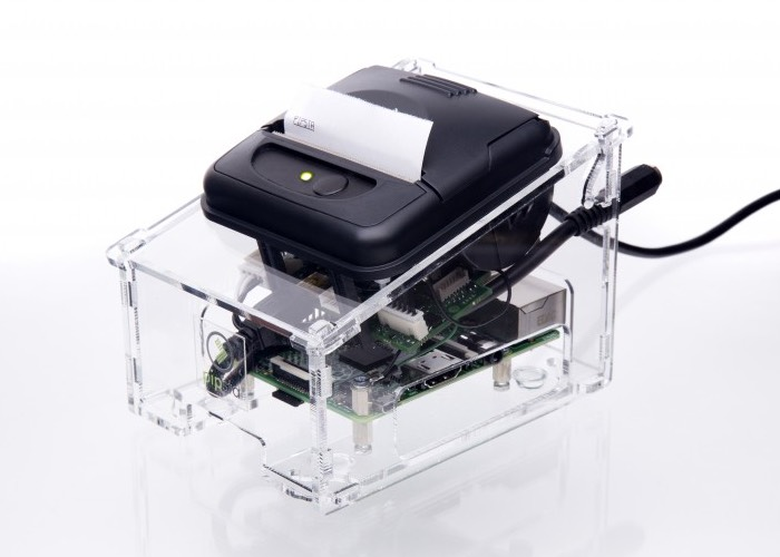 Pipsta Smart Printer Powered By A Raspberry Pi