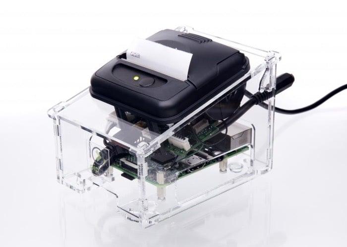 Pipsta Smart Printer Powered By A Raspberry Pi