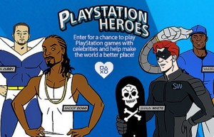 PlayStation HEROES Lets You Play Games With Celebrities And Professional Athletes  (video)
