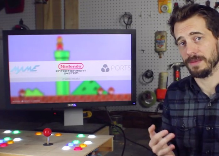 DIY Retro Raspberry Pi Arcade Built Without The Need For Programming (video)