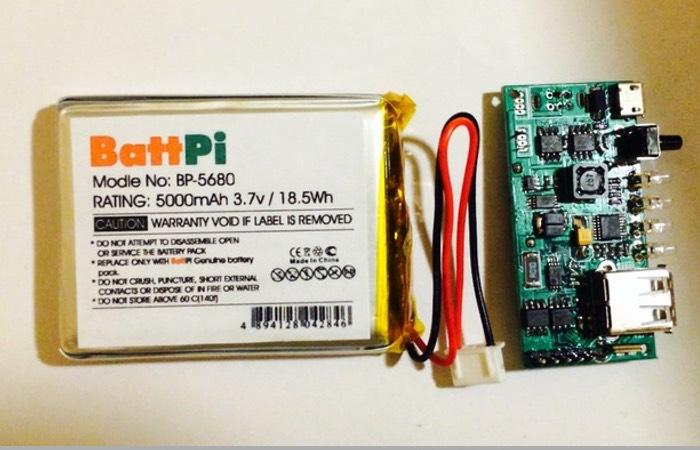Raspberry Pi Battery Case