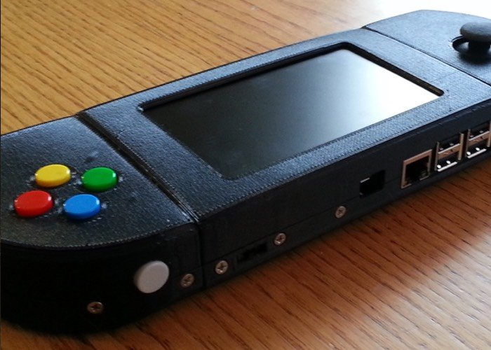 Raspberry Pi Powered Handheld