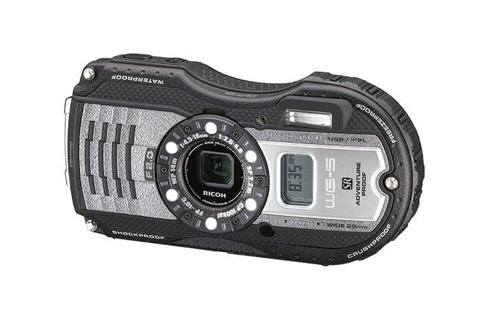 Ricoh WG-5 GPS Rugged Compact Camera