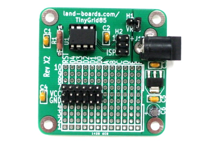 Shrinkified Arduino Hard Development Card